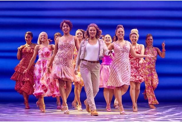 Mamma Mia at Birmingham Hippodrome - Lizz Brain
