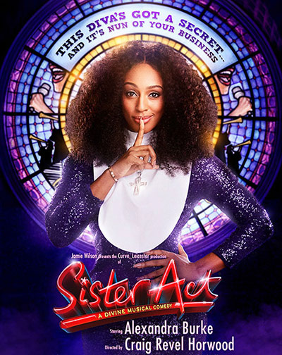 Sister Act, Curve Theatre Leicester - Lizz Brain