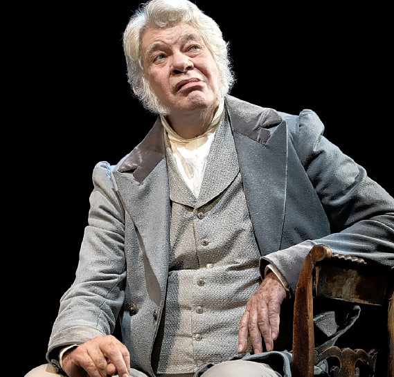 Matthew Kelly in Pride & Prejudice, Curve Theatre Leicester - Lizz Brain